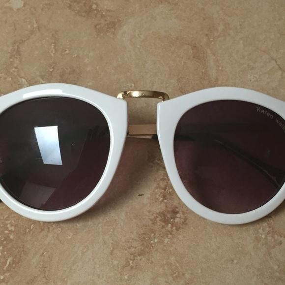 27517b9748d Karen Walker Accessories - karen walker harvest white sunglasses